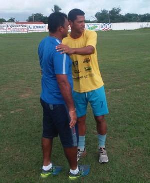 Paolo Rossi em despedida do Parnahyba  (Foto: Gláucio Júnior)