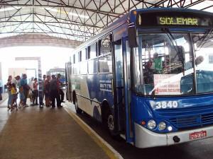 Tarifa de ônibus de Praia Grande terá reajuste (Foto: Divulgação/Prefeitura de Praia Grande)