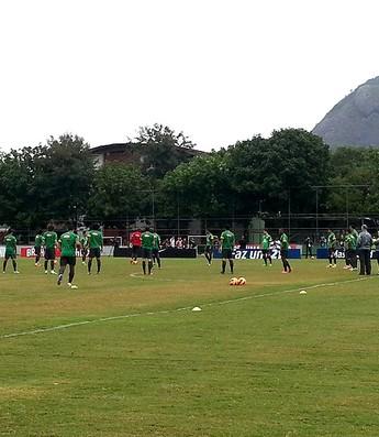 treino seleção jogadores Gávea (Foto: Richard Souza)