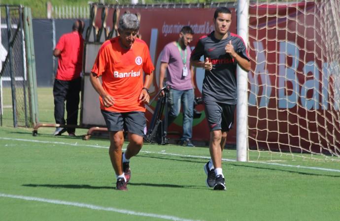 Internacional Inter William treino (Foto: Eduardo Deconto/GloboEsporte.com)