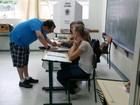 TRE-SC troca 101 urnas em 51 cidades (Jean Mazzonetto/RBS TV)