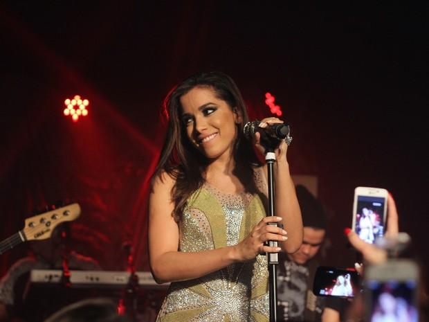 Anitta faz show em boate em São Paulo (Foto: Thiago Duran/ Ag. News)