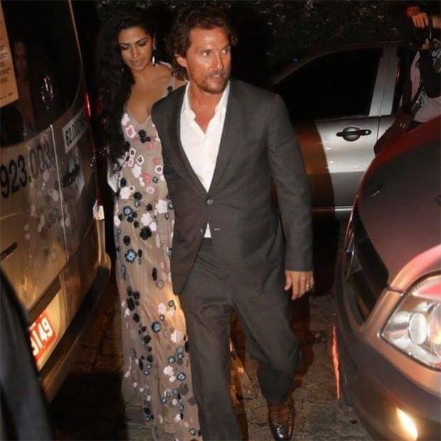 Camila Alves e Matthew McConaughey (Foto: Reprodução/Instagram)