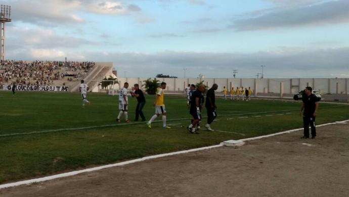Treze faz o primeiro gol do Campeonato Paraibano (Foto: Divulgação/FPF)