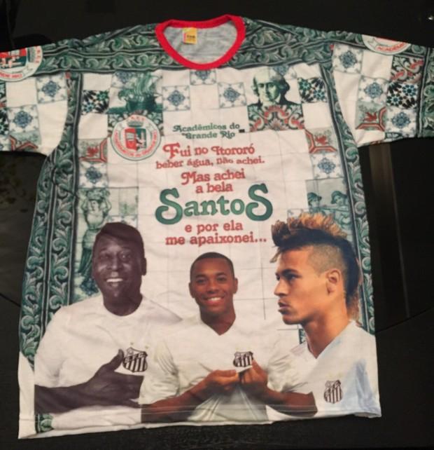 Camisa da Grande Rio para o carnaval 2016 (Foto  Reprodução Instagram) dfc0e8958d5b9