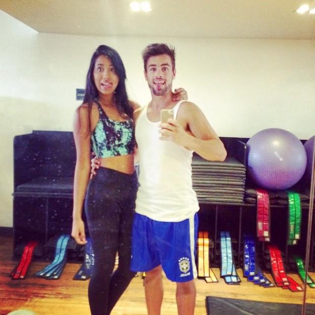 Talita e Rafael Licks (Foto: Instagram / reprodução)