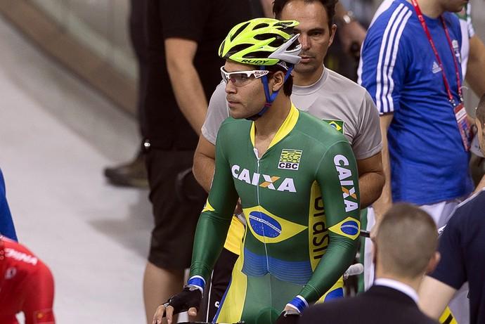 Gideoni Monteiro, ciclista, Mundial de ciclismo (Foto: Eric Baledent/CBC)