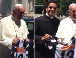 Papa Francisco, Atlético-MG, Vaticano (Foto: Arquivo pessoal / Bruno Rodrigo)
