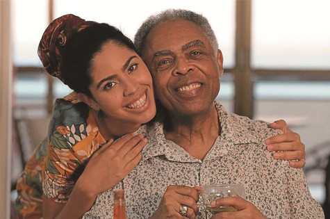 Gilberto Gil e a filha, Bela (Foto: Divulgação)