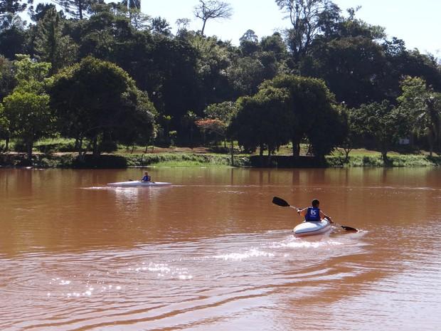 Projeto 'Navega São Paulo' é oferecido a estudantes de escolas públicas. (Foto: Divulgação / Prefeitura de Avaré)
