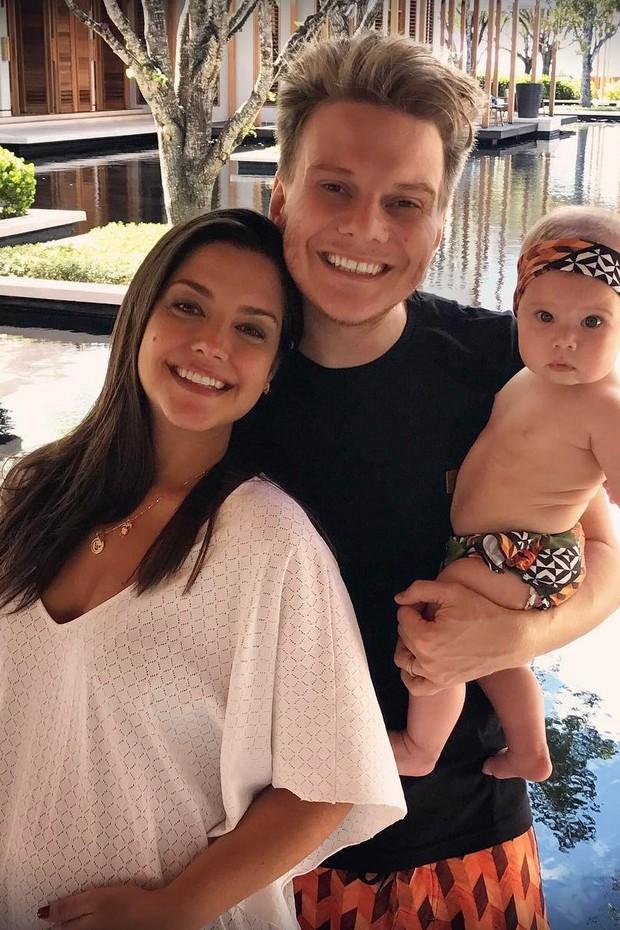 Michel Telo e família (Foto: Reprodução / Instagram)