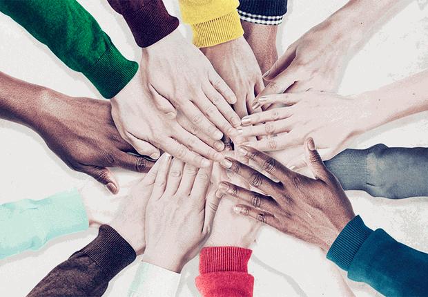 união, diversidade, trabalho em equipe (Foto: Thinkstock)
