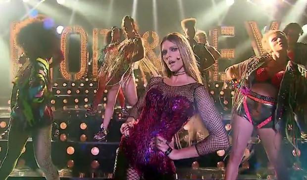 Fernanda Lima no musical de Amor e Sexo ao som de Beyoncé (Foto: Reprodução/Globo)