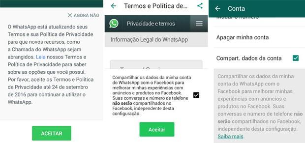 Novos termos de serviço serão apresentados pelo Whatsapp (Foto: Divulgação/Whatsapp)