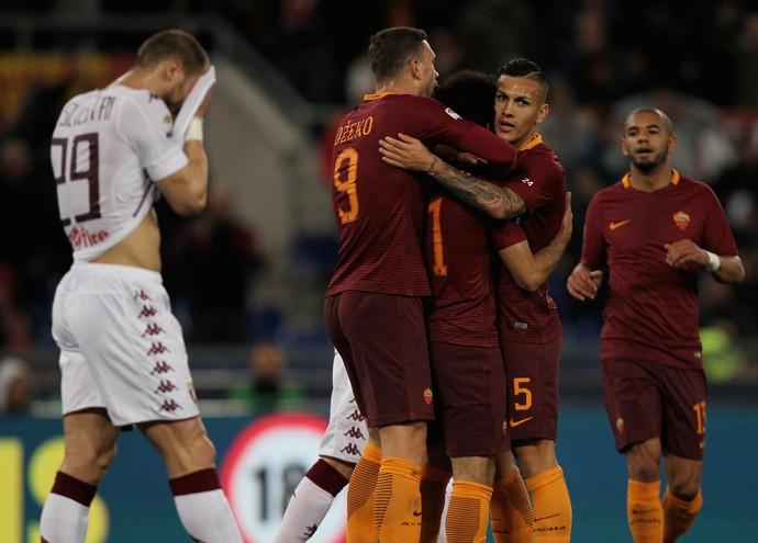 Roma x Torino Campeonato Italiano (Foto: Getty Images)