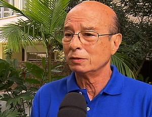 Ex-técnico Ary Vidal (Foto: Reprodução SporTV)