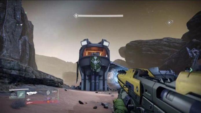 O personagem de Halo aparece em mais um easter egg em Destiny (Foto: Divulgação)