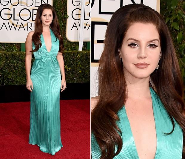 Lana del Rey no Globo de Ouro 2015 (Foto: Getty Images)