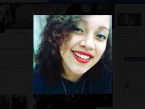 Rayzza, de 21 anos, foi encontrada morta em São Pedro da Aldeia (Foto: Reprodução/Facebook)