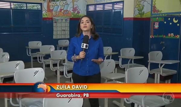 Reportagem de Zuíla David mostrou o que as prefeituras estão fazendo para chamar mais alunos (Foto: Reprodução)