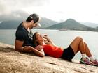 Adriana e Rodrigão relembram início do namoro: 'Achavam que era farsa'