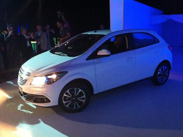 Onix é apresentado pela Chevrolet (Foto: Rodrigo Mora/G1)