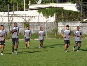 Resende faz primeiro treino da semana antes da semifinal contra o Botafogo (Foto: Luis Filipe Pereira/ GLOBOESPORTE.COM)