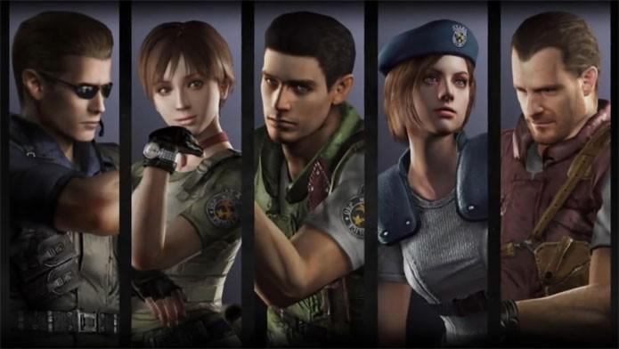 Resident Evil chega remasterizado na nova geração (Foto: Divulgação)