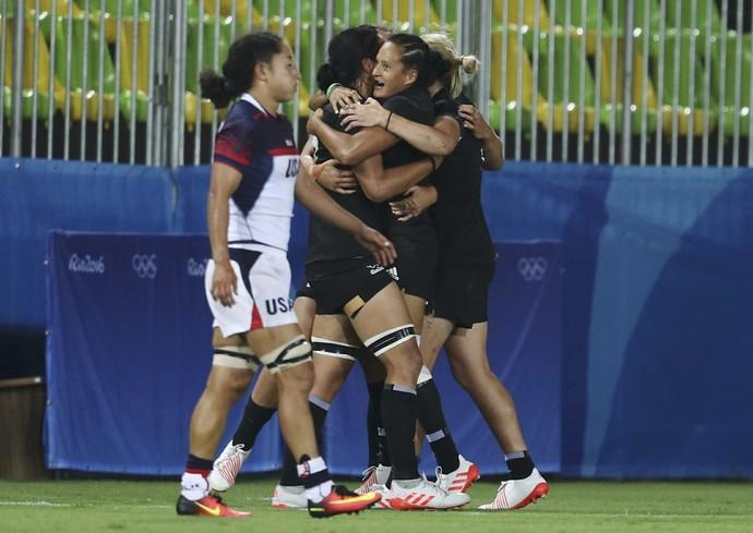 rugby Nova Zelândia x Estados Unidos (Foto: REUTERS/Phil Noble)