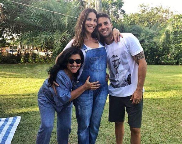 Regina Case, Ivete Sangalo e Daniel Cady (Foto: Reprodução Instagram)