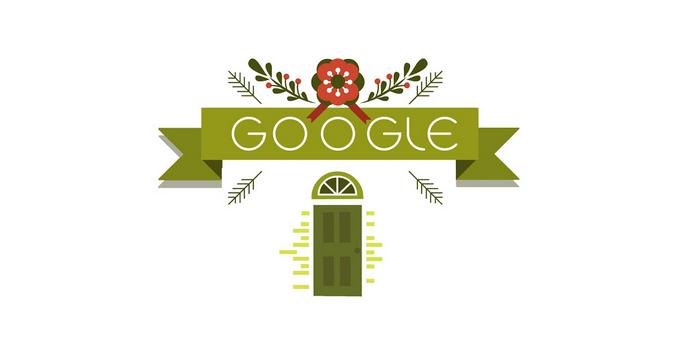 Doodle animado tem vídeo celebrando viagens de Natal (Foto: Reprodução)