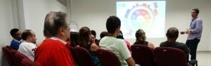 Reciclagem de resíduos foi tema de palestra na Rede Amazônica; confira (Onofre Martins/Rede Amazônica)