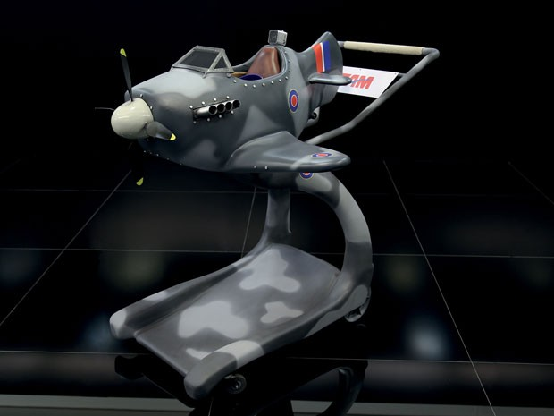 O Spitfire, caça britânico mais famoso da Segunda Guerra Mundial (Foto: Divulgação)