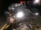 Em MG, homem morre após invadir contramão e bater em ônibus