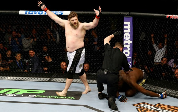 Roy Nelson x Cheick Kongo UFC 159 (Foto: Getty Images)