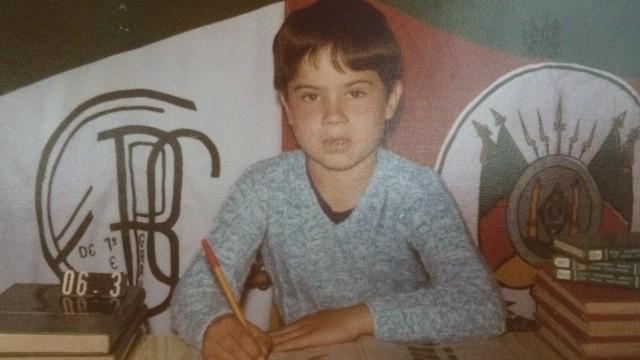 Edmilson Ortiz também relembra tempos de escola (Foto: Edmilson Ortiz/Arquivo pessoal)