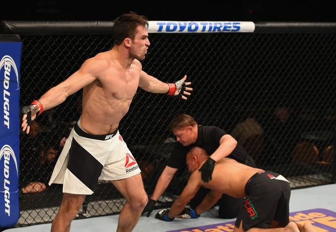 Sheldon Westcott, Edgar Garcia, UFC 195, MMA (Foto: Getty Images)