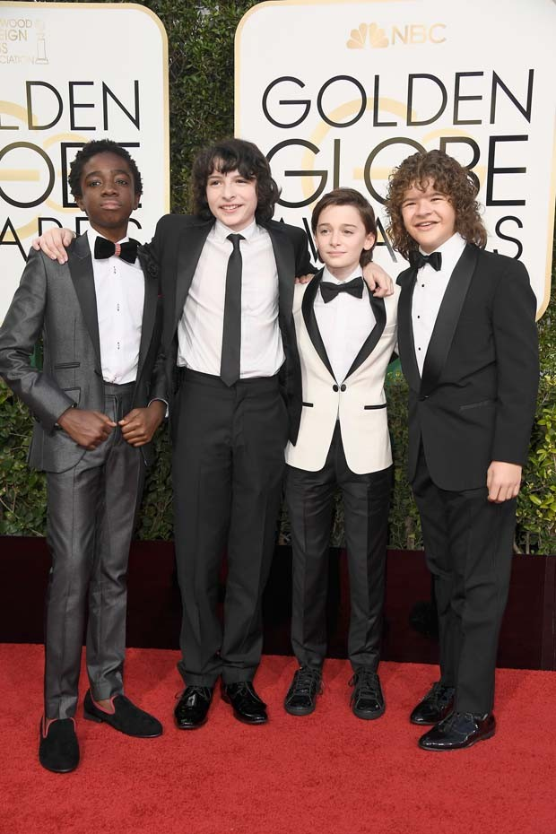 Pessoal do Stranger Things (Foto: Frazer Harrison/getty images)