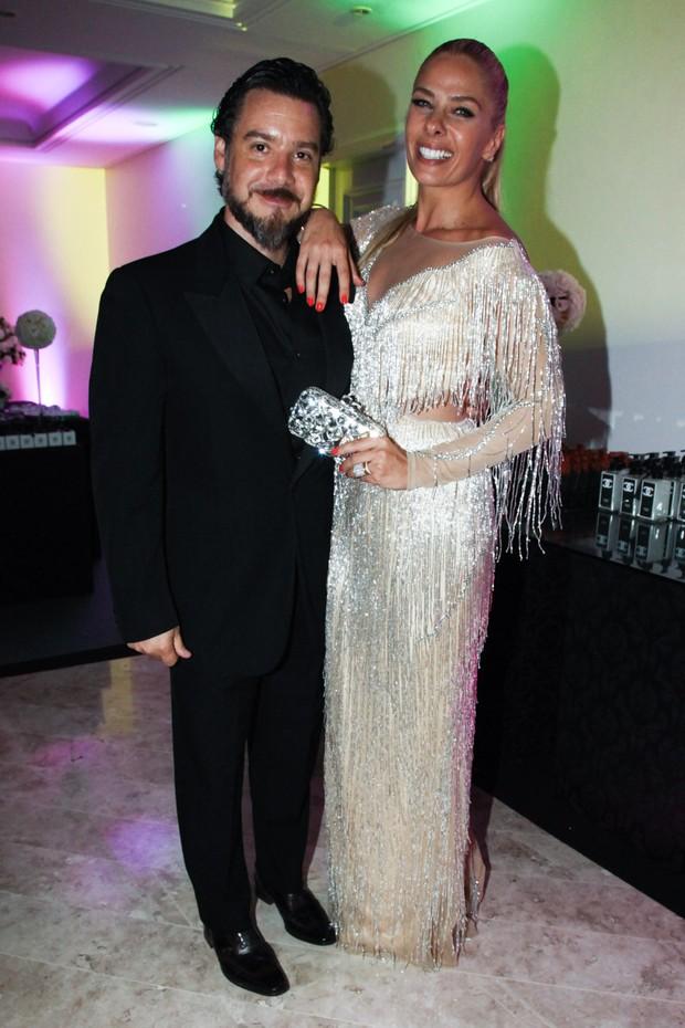 Alexandre Iódice e Adriane Galisteu (Foto: Manuela Scarpa/Photorionews)