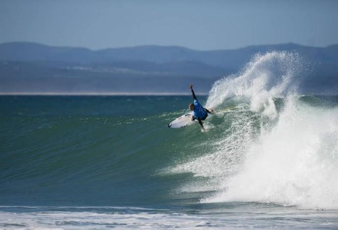 Mick Fanning surfando em J-Bay (Foto: WSL / Kirstin)