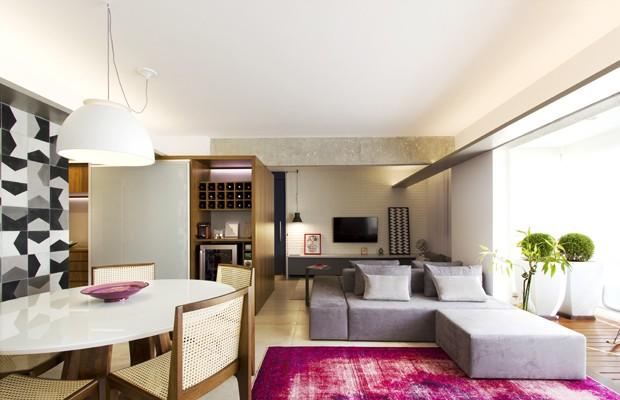 Inova o em lar de espa os conectados casa vogue for Sala de estar segundo piso