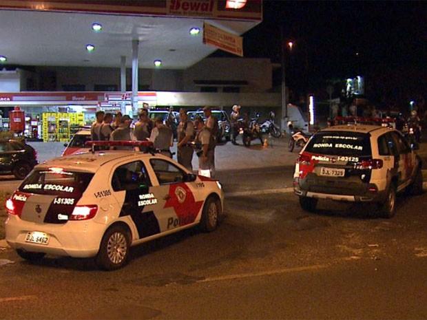 Adolescente morreu após ser baleado em frente a posto em Ribeirão Preto (Foto: Cesar Tadeu/ EPTV)