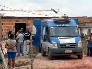 Cinco pessoas foram mortas em chacina (Foto: Reprodução/TV Bahia)