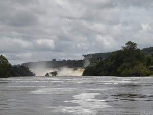 Rio Jari, em Laranjal do Jari (Foto: John Pacheco/G1)