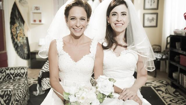 O final feliz de Fátima e Sueli em Tapas e Beijos (Foto: Globo/Caiuá Franco)