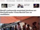 Imprensa internacional repercute resultados das eleições municipais