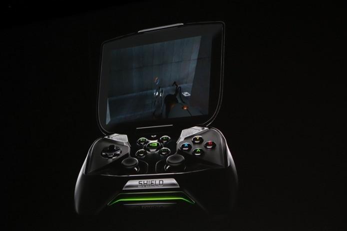 A Nvidia demonstrou Portal rodando no Shield. (Foto: Reprodução/AndroidPolice)