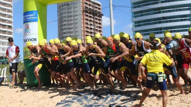 Vila Velha recebe Campeonato Panamericano Júnior de Triatlo  (Foto: Divulgação/Pauta Livre)