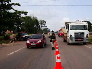 Operação vai fiscalizar irregularidades nas rodovias federais do país (Foto: Divulgação/ PRF)