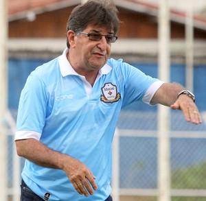 René Simões, técnico do Macaé (Foto: Tiago Ferreira/Macaé)